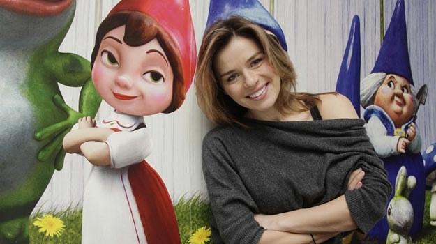 """Dla Nataszy Urbańskiej rola w animacji """"Gnomeo i Julia"""" to dubbingowy debiut /AKPA"""