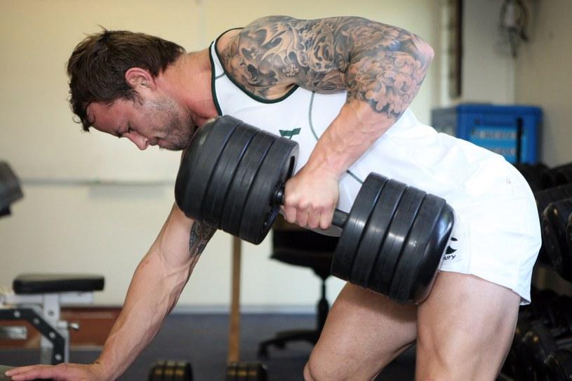 Dla niektórych sportowców siłownia to drugi dom /Getty Images/Flash Press Media