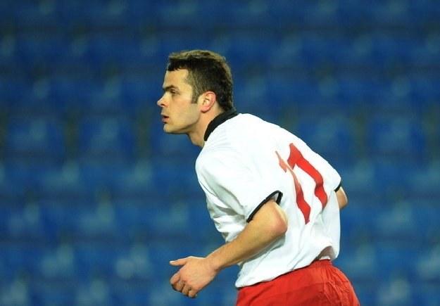 Dla Pawła Brożka (na zdjęciu) mecz z Bośnią to ostatnia szansa w kadrze Franza Smudy /AFP