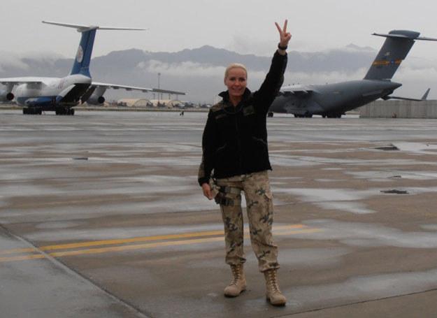 Dla ppor. Anity Skowron to już druga misja w Afganistanie /K. Szal /INTERIA.PL