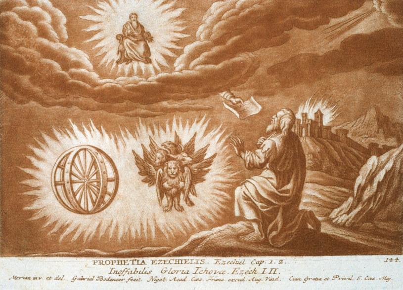 Dla wielu badaczy Starego Testamentu wizje proroka Ezechiela stanowią ciągle nierozwiązaną zagadkę /East News