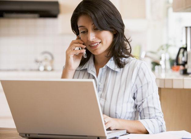 Dla wielu kobiet telepraca to wygodne rozwiazanie /© Panthermedia