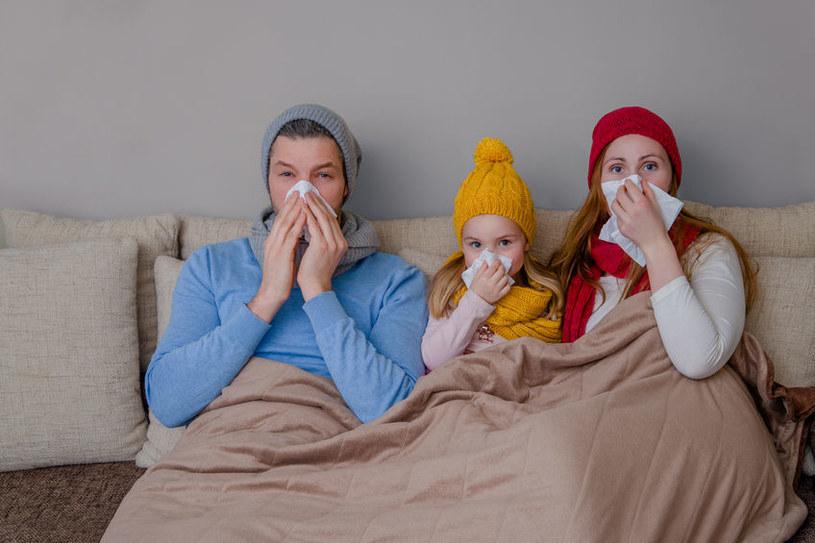 Dlaczego chorujemy zimą? /©123RF/PICSEL