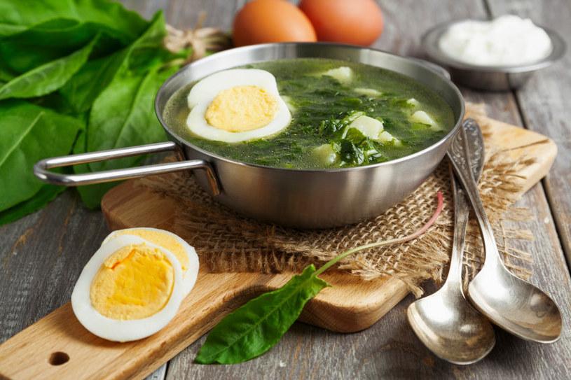 Dlaczego szczaw trzeba łączyć z jajkiem? /123RF/PICSEL