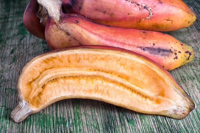 Dlaczego warto jeść czerwone banany? /©123RF/PICSEL