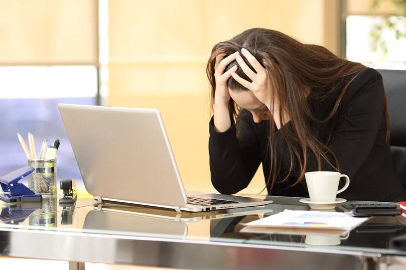 Długotrwały stres jest przyczyną wypalenia zawodowego /123RF/PICSEL