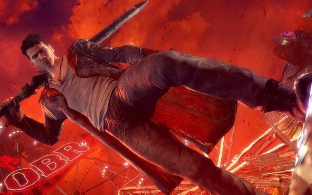 DMC: Devil May Cry - motyw graficzny /