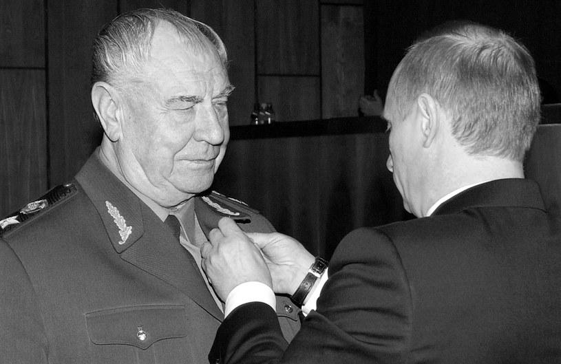 Dmitrij Jazow zmarł w wieku 95 lat /SERGEY ZHUKOV / ITAR-TASS /AFP