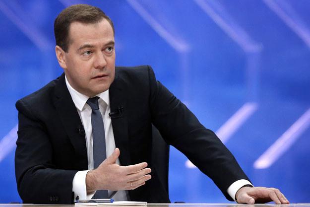 Dmitrij Miedwiediew ocenił sytuację na tym rynku leków jako niepokojącą fot. Dmitry Astakhov /AFP