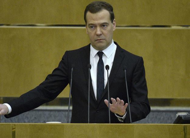 """Dmitrij Miedwiediew powiedział: """"powinniśmy w granicach rozsądku iść na ustępstwa"""" /Yuri Kadobnov /AFP"""