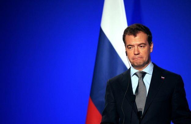 Dmitrij Miedwiediew, premier Rosji /AFP