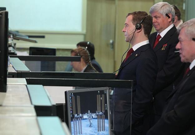 Dmitrij Miedwiediew tnie kosmiczne wydatki /AFP
