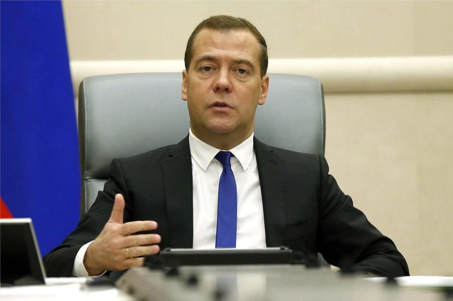 Dmitrij Miedwiediew / Astakhov Dmitry   (PAP/ ITAR-TASS)    /PAP/EPA