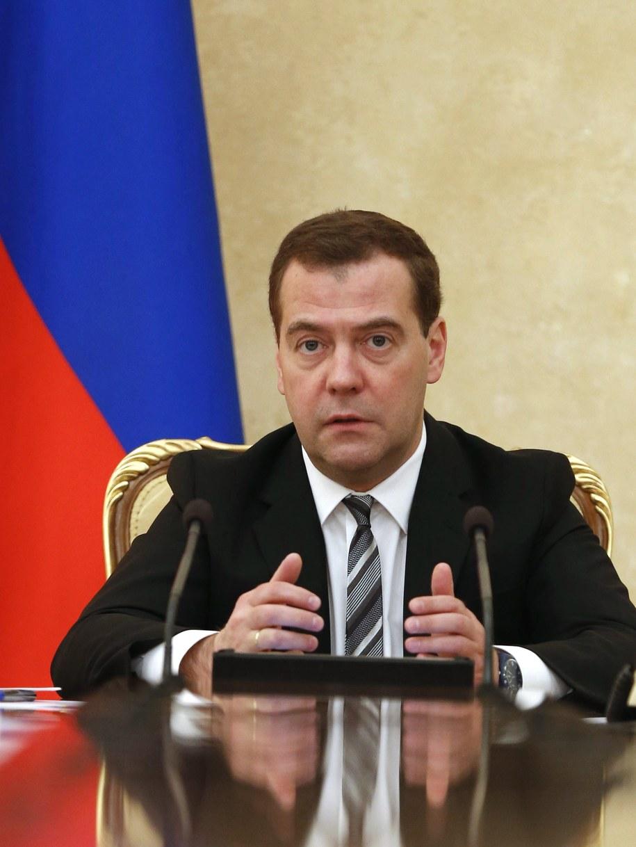 Dmitrij Miedwiediew /DMITRY ASTAKHOV/RIA NOVOSTI/GOVERNMENT PRESS SERVICE POOL /PAP/EPA