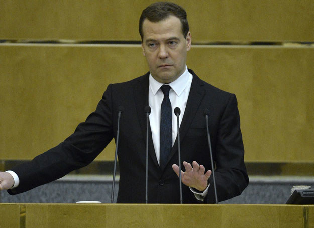 Dmitrij Miedwiediew /Yuri Kadobnov /AFP