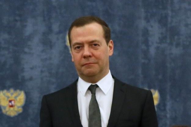 Dmitrij Miedwiediew /EKATERINA SHTUKINA / SPUTNIK / GOVERNMENT PRESS SERVICE POOL /PAP/EPA