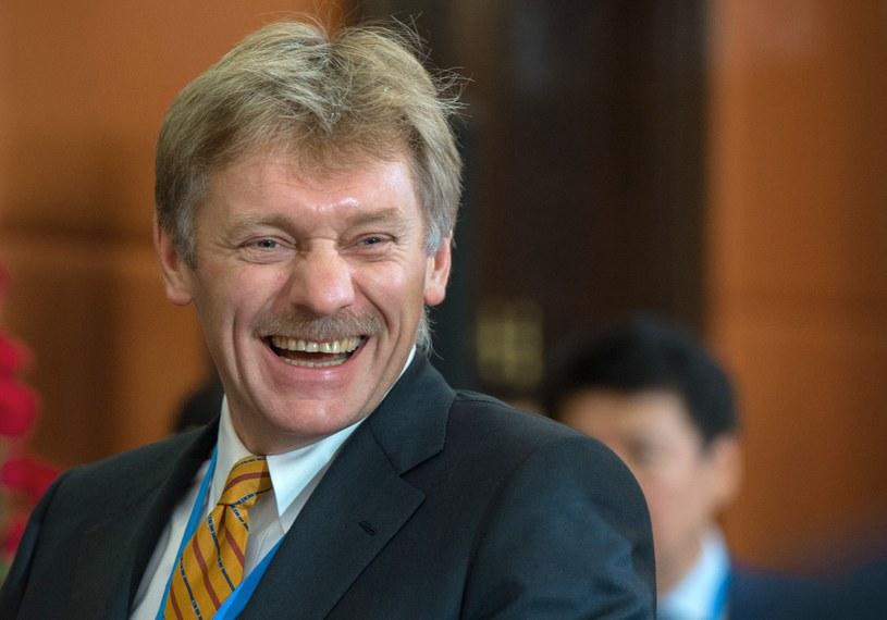 Dmitrij Pieskow: To kaczka dziennikarska, fabrykacja i kompletna bzdura /SERGEI GUNEEV /AFP
