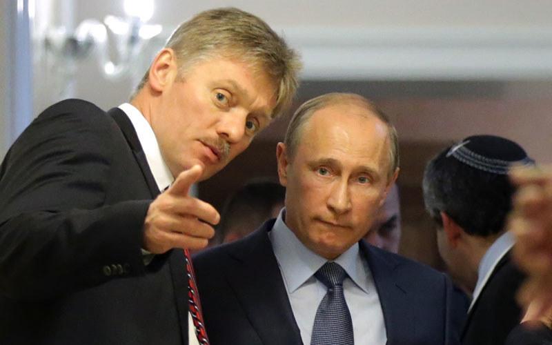 Dmitrij Pieskow z Putinem /AFP