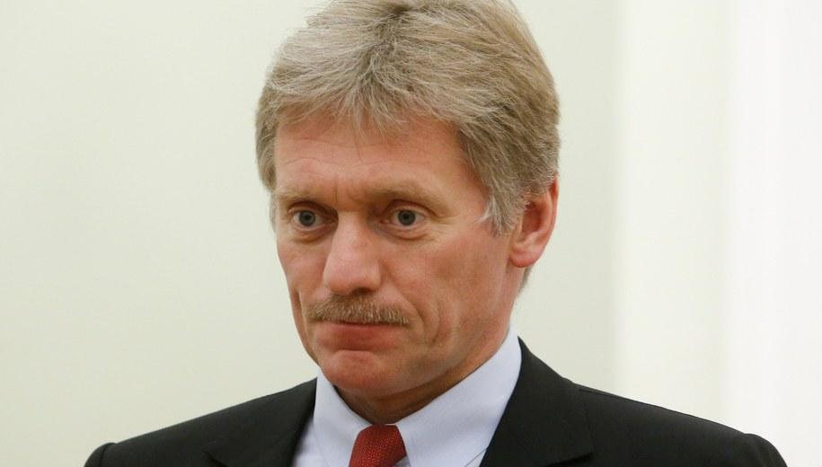 Dmitrij Pieskow /SERGEI KARPUKHIN / REUTERS / POOL /PAP/EPA
