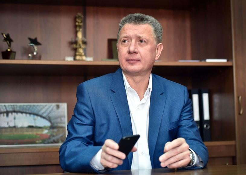 Dmitrij Szliachtin, prezez rosyjskiej federacji lekkoatletycznej /AFP