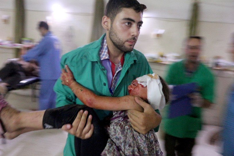 Do 12 września podczas wojny w Syrii zginęło m.in. 86 692 cywilów, w tym 15 099 dzieci /Getty Images