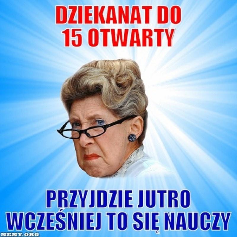 Do 15 i ani minuty dłużej! /memy.org /Internet