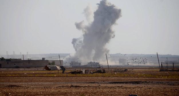 Do 200 kurdyjskich bojowników zginęło w nalotach w Syrii. Zdj. ilustracyjne /Abaca /PAP/EPA