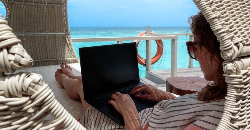 Do 2035 roku cyfrowych nomadów może być aż miliard /123RF/PICSEL