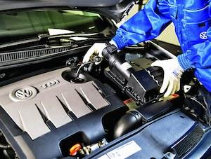 Do akcji serwisowej związanej z silnikami TDI VW przystąpił dobrowolnie. /Motor