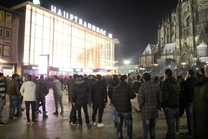 Do ataków doszło w Kolonii /AFP