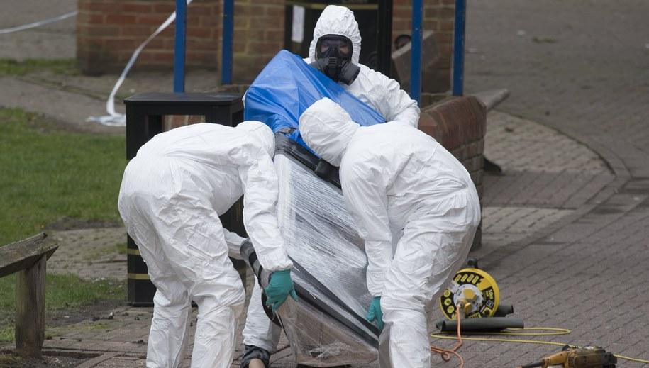 Do ataku chemicznego w Salisbury doszło 4 marca /WILL OLIVER  /PAP/EPA