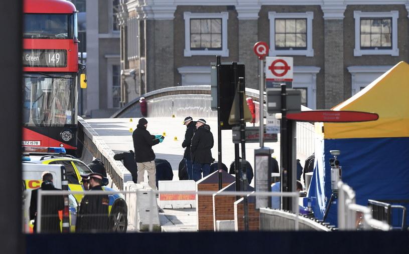 Do ataku doszło na Moście Londyńskim /FACUNDO ARRIZABALAGA /PAP/EPA