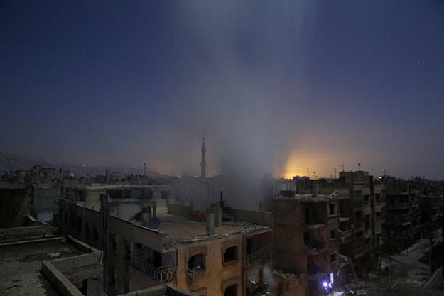 Do ataku doszło w mieście Duma /AFP