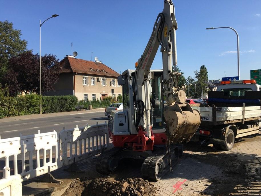 Do awarii doszło podczas prac przy stacji uzdatniania wody w Zawadzie /Wodociągi i Kanalizacja w Opolu /
