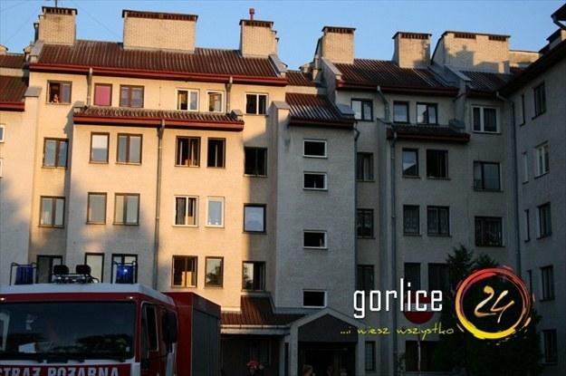 Do dramatu doszło na osiedlu Pod Lodownią w Gorlicach /Gorlice24.pl