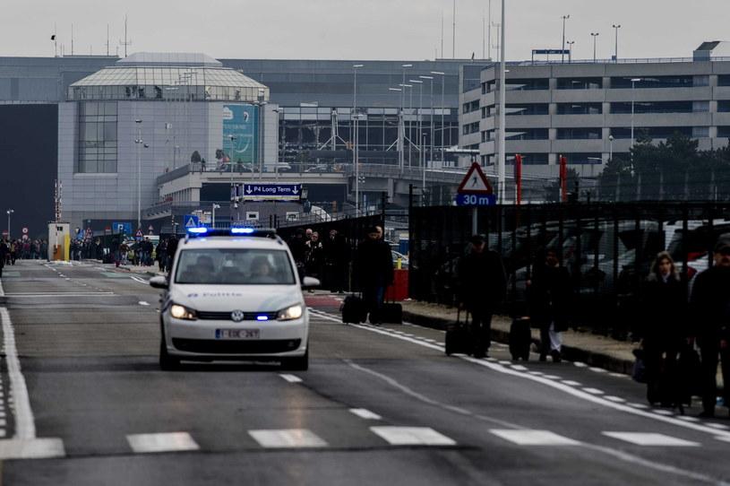 Do dwóch wybuchów doszło na lotnisku Zaventem /JONAS ROOSENS /PAP/EPA