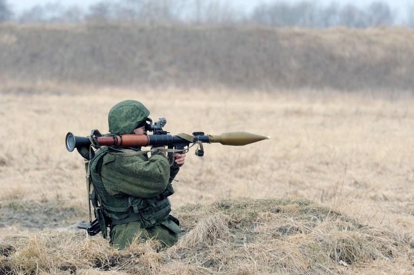 Do dziś niektore oddziały są wyposażone w granatniki RPG-7 /Wojtek Laski /East News
