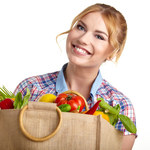Do ekologicznych toreb też wrzucamy niezdrowe produkty