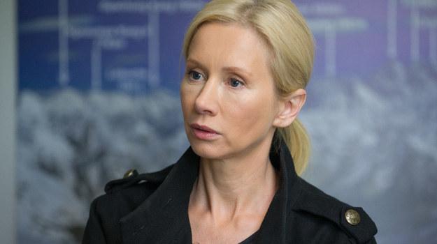 Do Ewy dociera, że zakochała się w Wichrowskim! /x-news/ Radek Orzeł /TVN