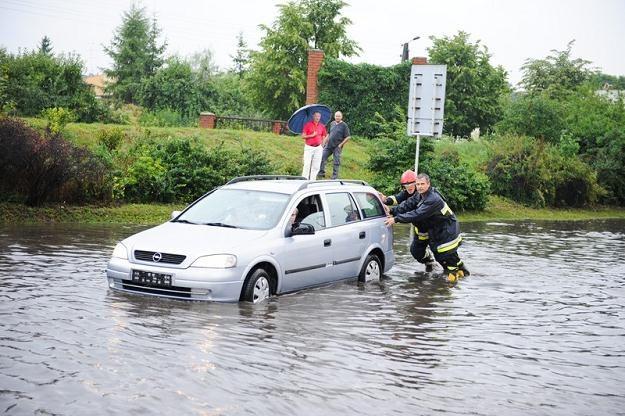 Do głębokiej wody lepiej nie wjeżdżać / Fot: Michał Wiśniewski /Reporter