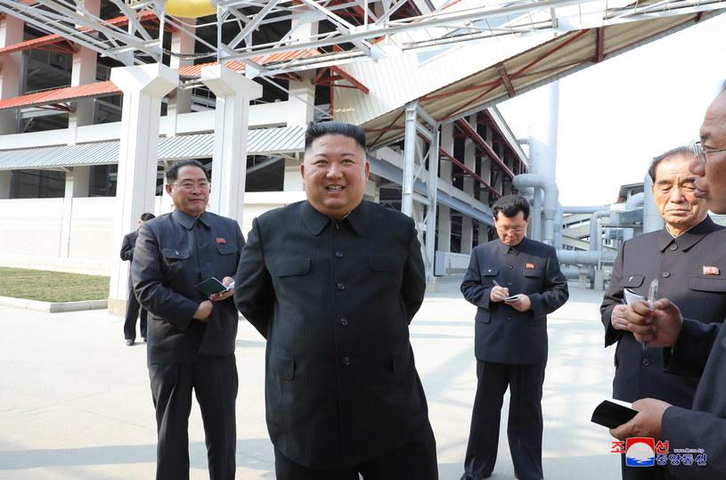 Do incydentu doszło dzień po upublicznieniu zdjęcia północnokoreańskiego przywódcy Kim Dzong Una /KCNA EDITORIAL USE /PAP/EPA