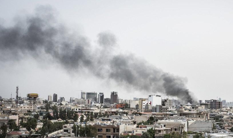 Do jednego z ataków doszło w pobliżu amerykańskiego konsulatu /EPA/ASGER LADEFOGED /PAP/EPA