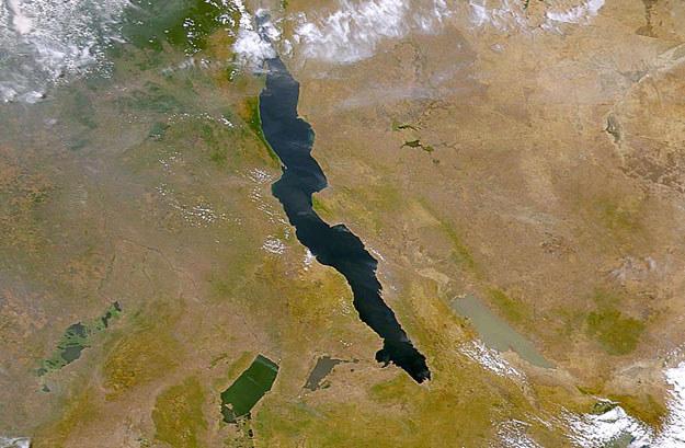 Do katastrofy doszło na jeziorze Tanganika fot. NASA /AFP