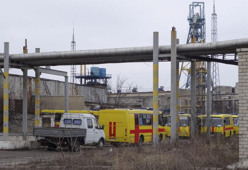 Do katastrofy doszło w kopalni imienia Zasiadki /PAP/EPA