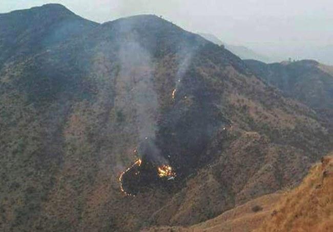 Do katastrofy doszło w Pakistanie /PAP/EPA
