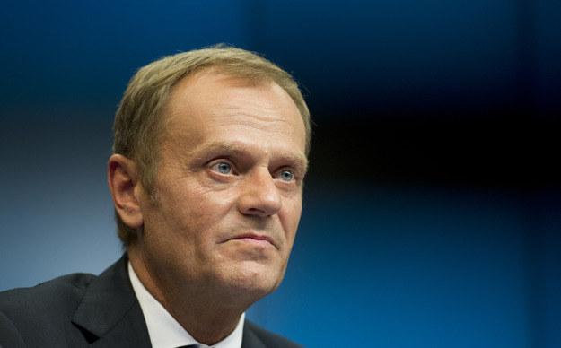 Do Kijowa leci premier Donald Tusk /AFP