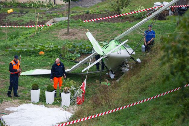 Do kolizji doszło podczas wykonywania zakrętu przez zespół trzech samolotów fot. Sebastien Bozon /AFP