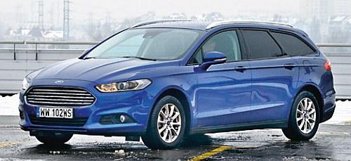 Do marek, które mają w ofercie modele z fabrycznym gazem, należą m.in.: Dacia, Ford (na fot.) i Opel. /Motor
