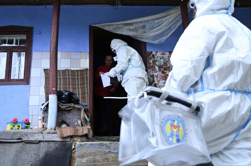 Do Mołdawii nie dotarła jeszcze ani jedna szczepionka przeciw COVID-19 /SERGEI GAPON /AFP