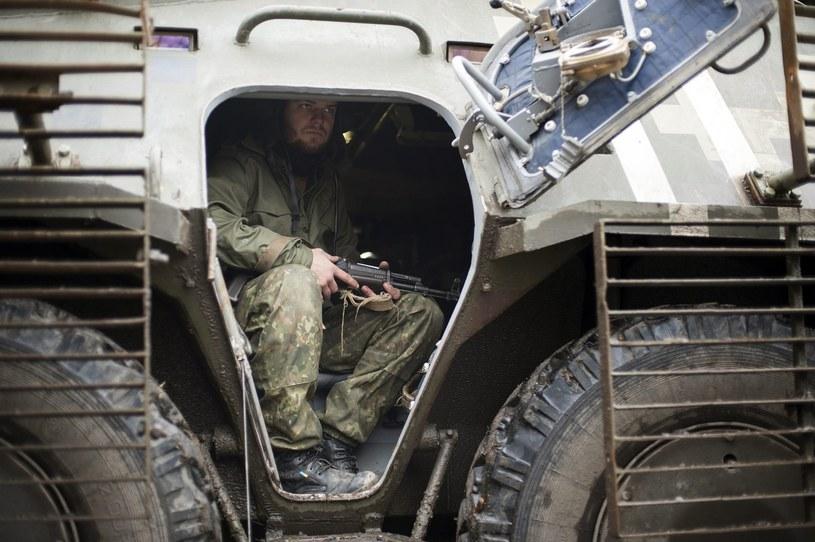 Do najostrzejszego starcia między prorosyjskimi rebeliantami a armią ukraińską doszło w pobliżu miasta Mariupol /AFP